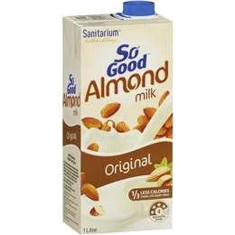 So Good Almond Milk 1L