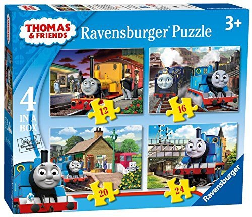 THOMAS THE TANK 4 IN 1 BOX PUZZLES