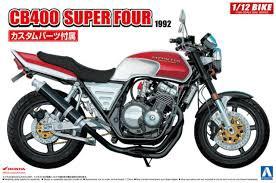 Aoshima #5514 1/12 1992 Honda CB400 SuperFour
