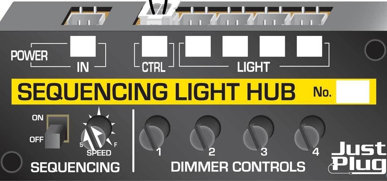 Just Plug #JP5680 Sequencing Light Hub