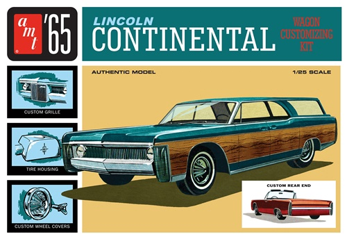 AMT #1081 1/25 1965 Lincoln Continental