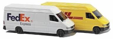 Busch #8304 N Mecedes Sprinter  (DHL-FedEx)