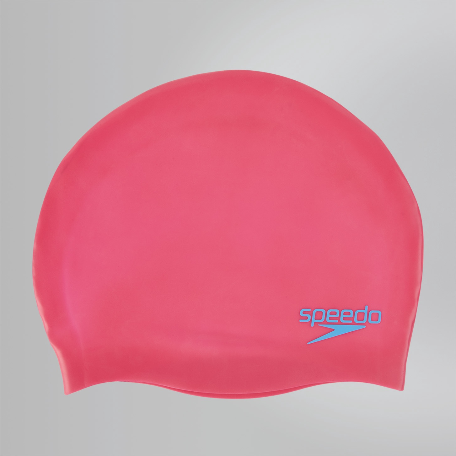 Junior Plain Moulded Silicone Cap Ecstatic Pink/Japan Blue