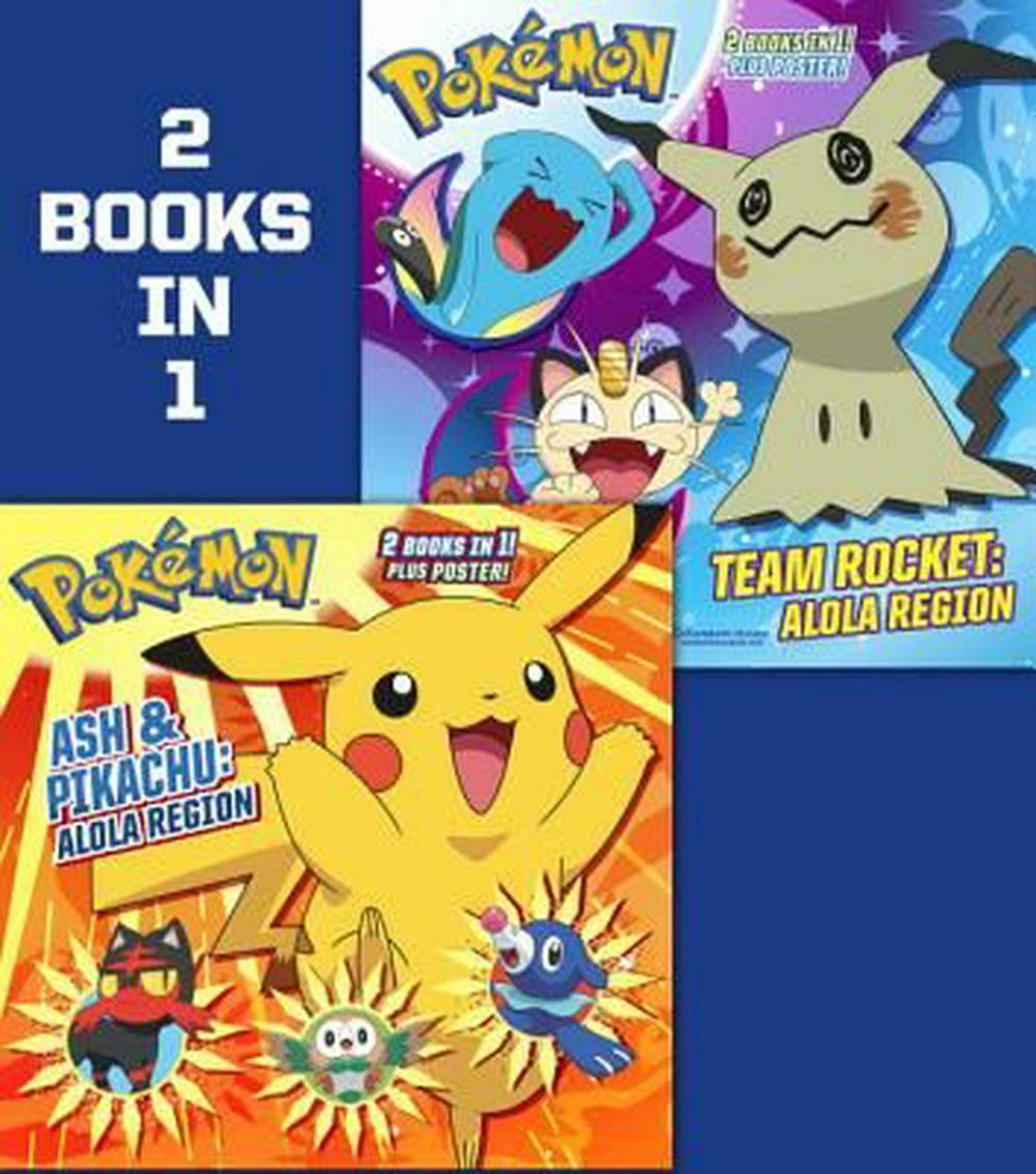 POKEMON ASH AND PIKACHU ALOLA REGION / TEAM ROCKET ALOLA REGION (PB)