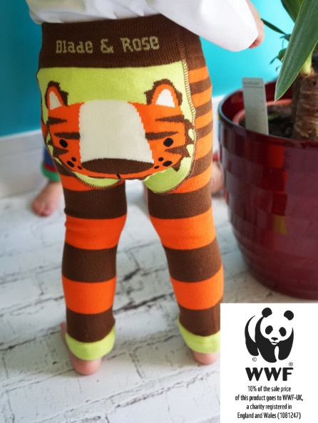 Blade & Rose Organic WWF Tiger Leggings