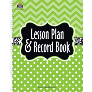 TCR 2384 LESSON PLAN AND RECORD BOOK LIME