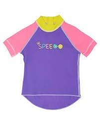 Toddler Girls Logo Short Sleeve Sun Top Penelope/Candy Floss/Marigold