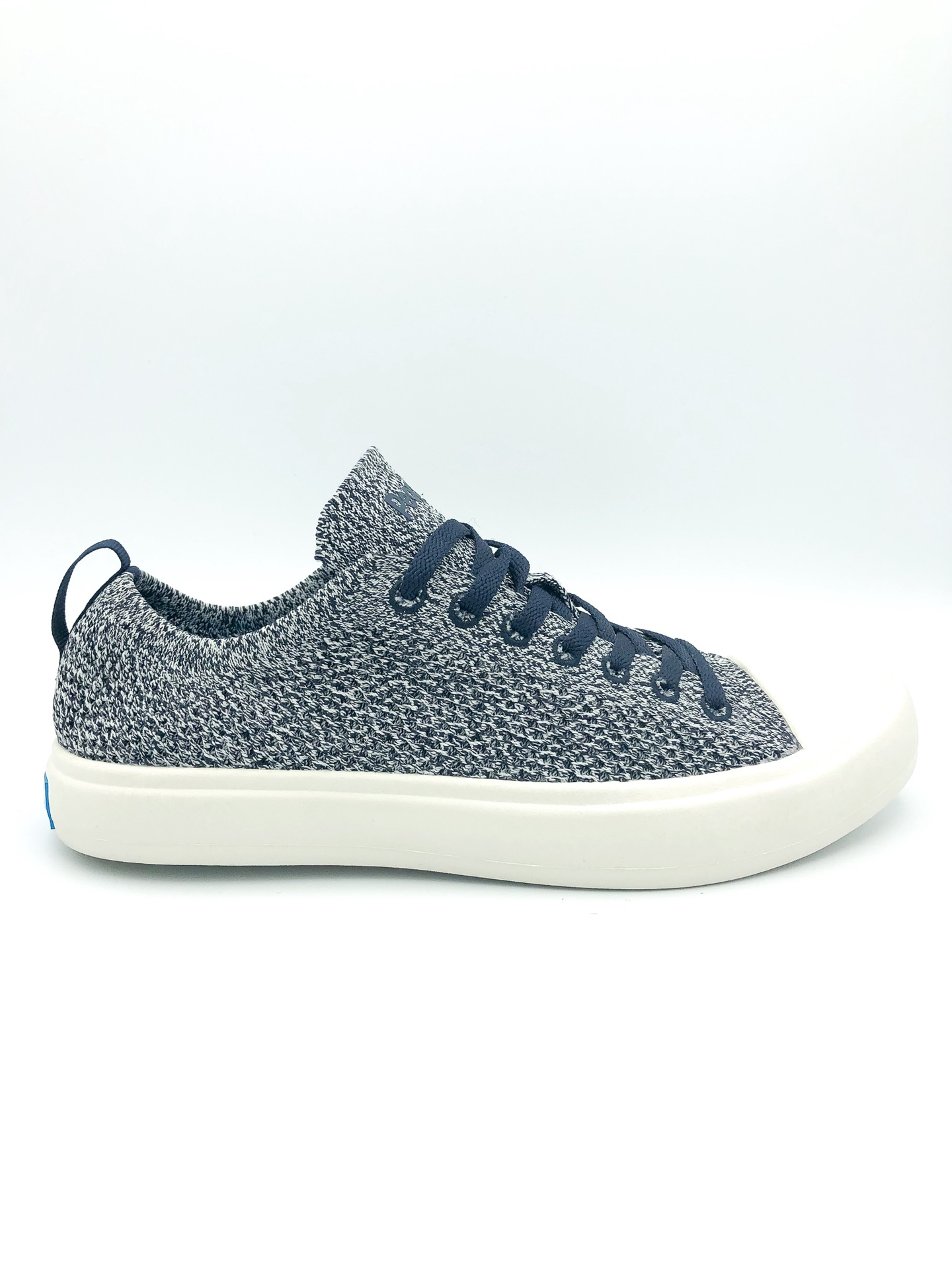 PEOPLE FOOTWEAR - THE PHILLIPS KNIT IN PADDINGTON BLUE/YETI WHITE