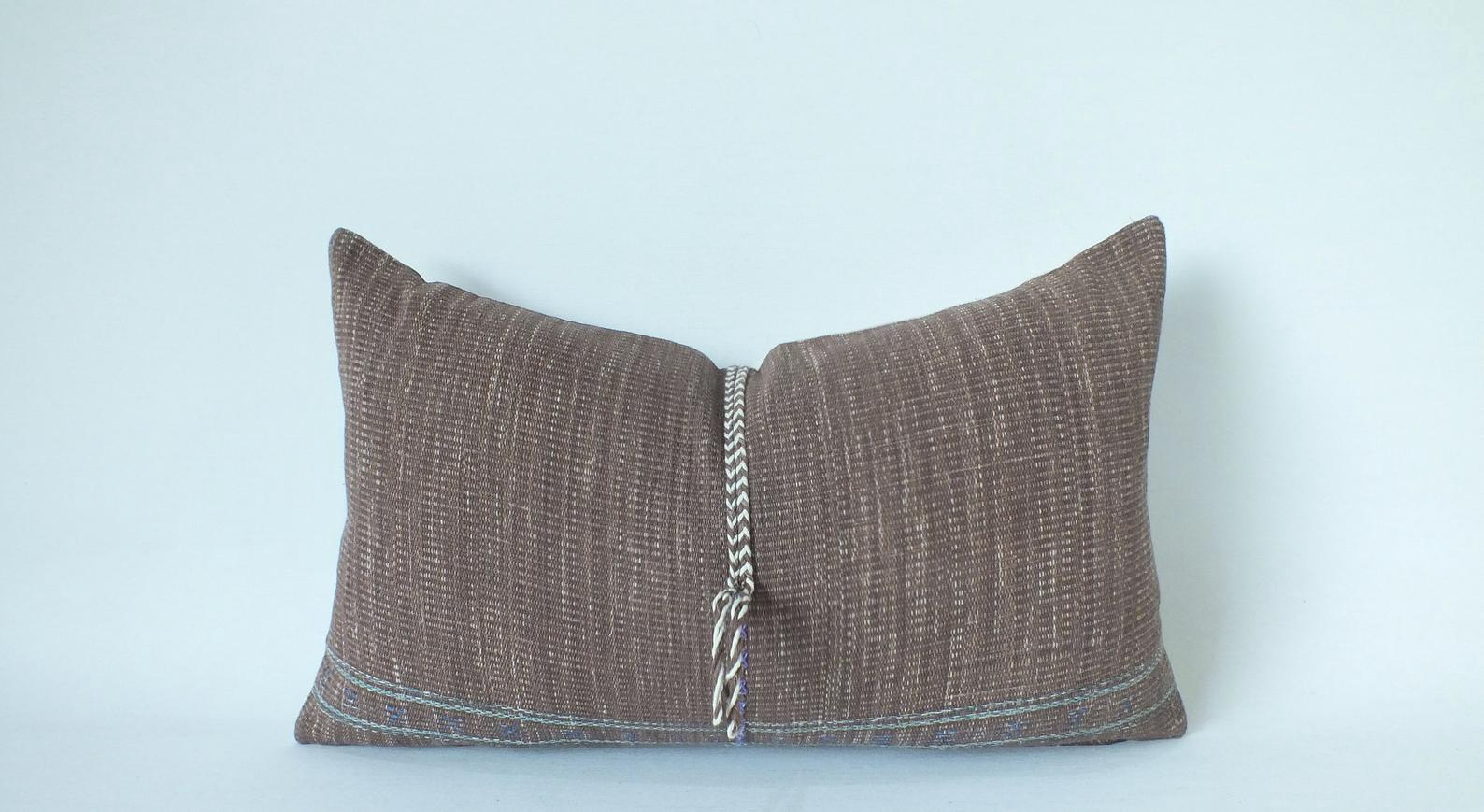 Braided Vintage Lumbar Pillow