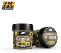AK Interactive #AK8029 Splatter Effects Wet Ground 100ml