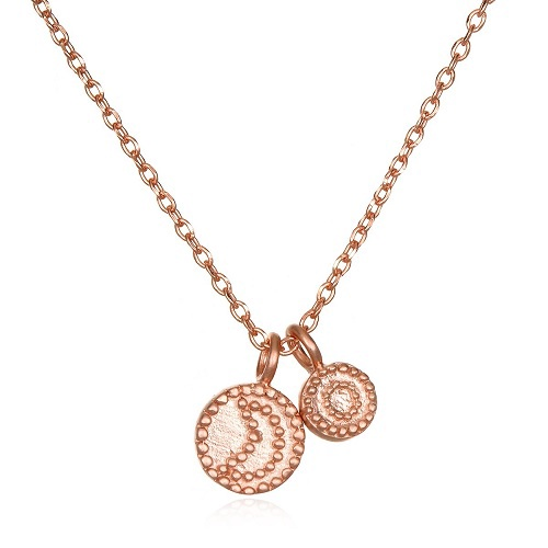 Rose Gold Sun & Moon Necklace