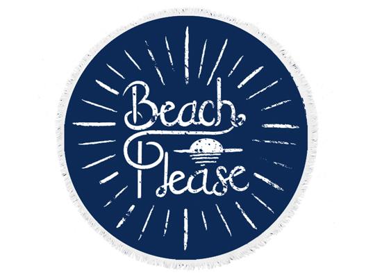 beach bella beach please round towel