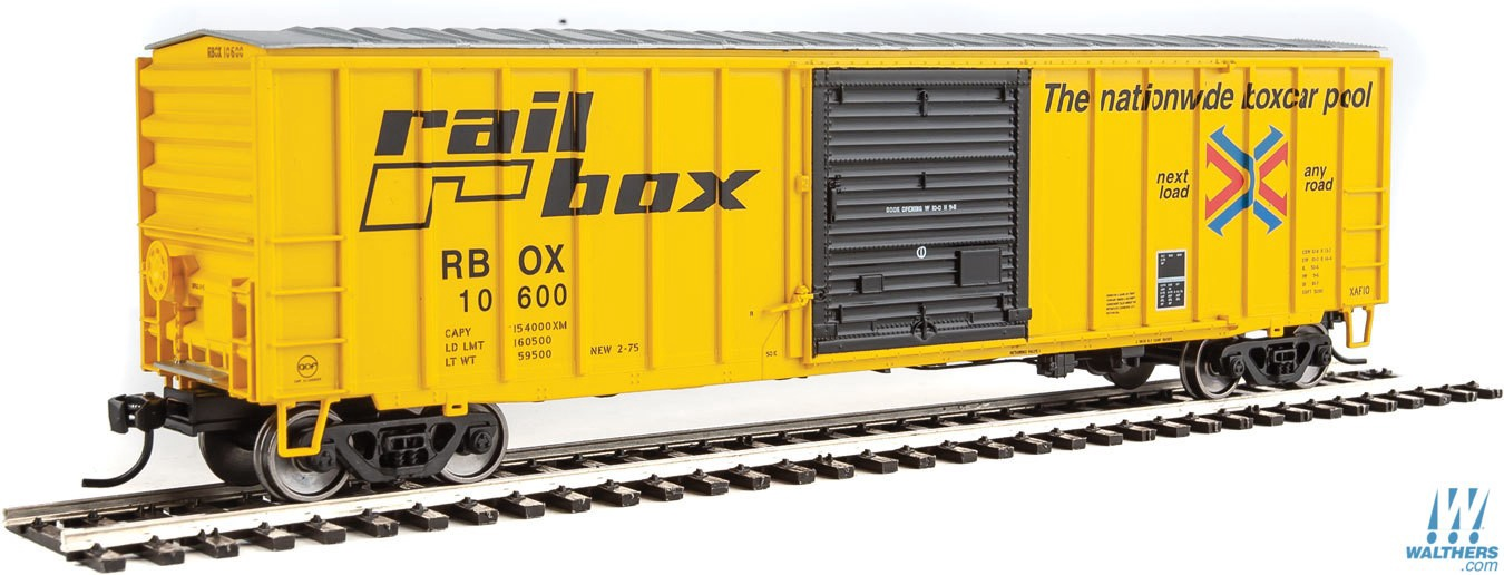 Walthers Mainline #910-1817 50' ACF Exterior Post Boxcar