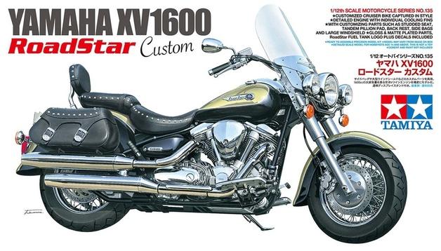 Tamiya #14135 1/12 Yamaha XV1600 Road Star Custom