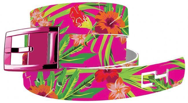 C4 Belt Tropical Flowers Collection