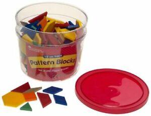 PLASTIC PATTERN BLOCKS SET OF 250