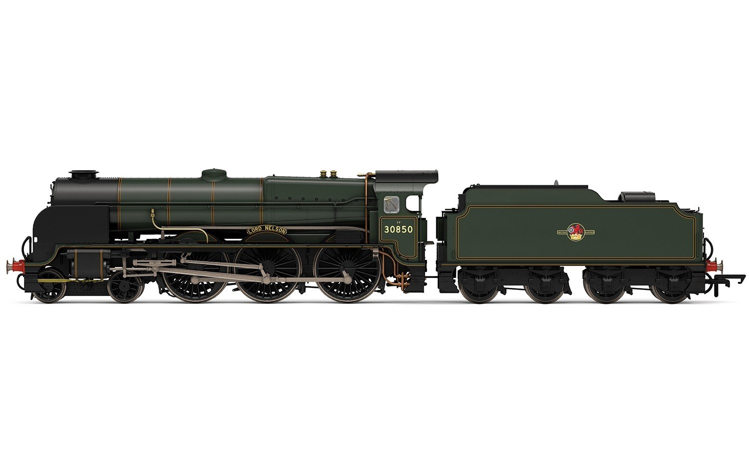 Hornby #R3603TTS BR (Late) Lord Nelson Class