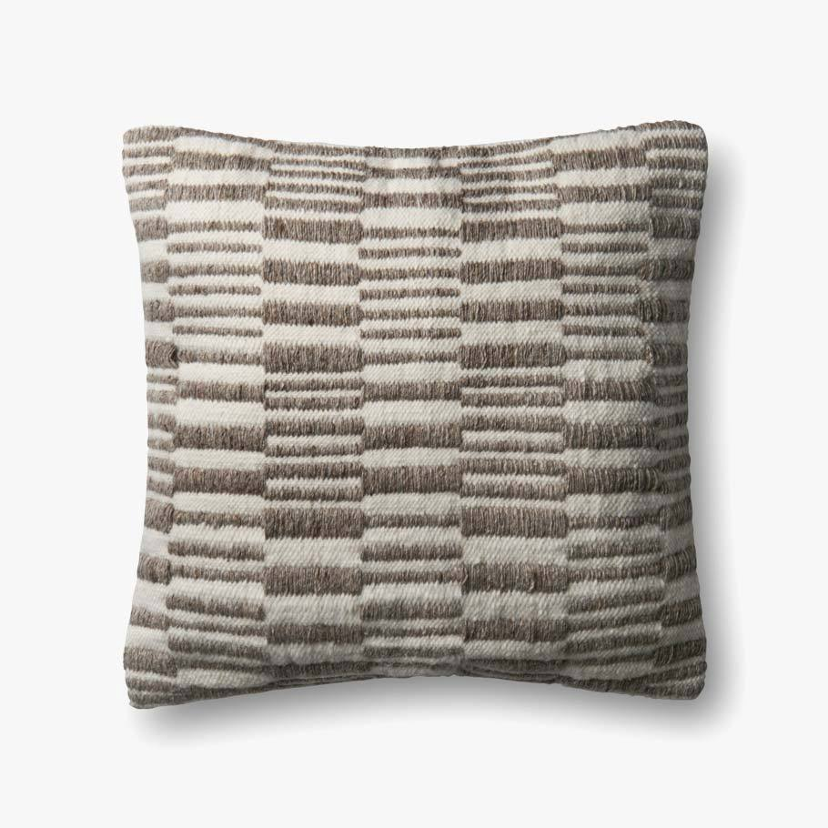 Greige Texture Pillow