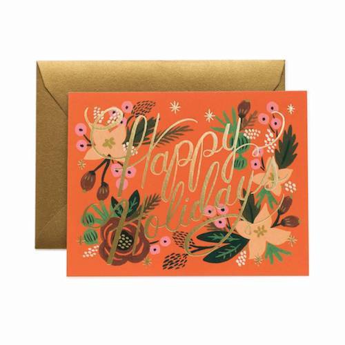 Poinsettia Holiday Boxed Card Set