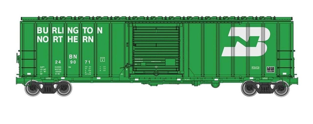 Walthers #910-1804 HO 50' ACF Exterior Post Boxcar