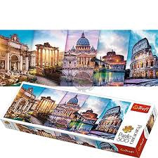 PANORAMA TRAVELLING TO ITALY PUZZLE 500 PCS