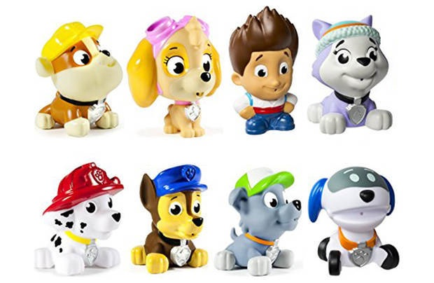 PAW PATROL BATH SQUIRTERS ASSORT
