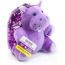 MINI SEQUIN PETS HOPE THE HIPPO