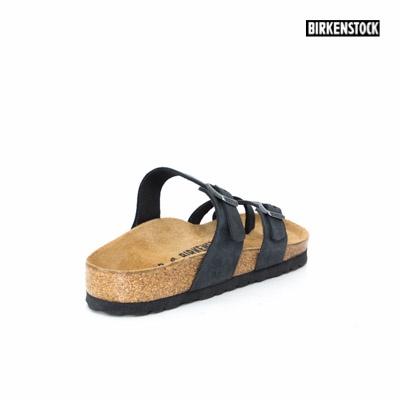 9eb95d2a4c8 Birkenstock Mayari Oiled Leather Black 1009922