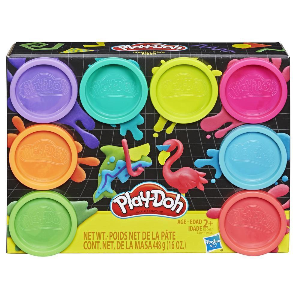PLAY-DOH 8 X 2 OZ TUBS