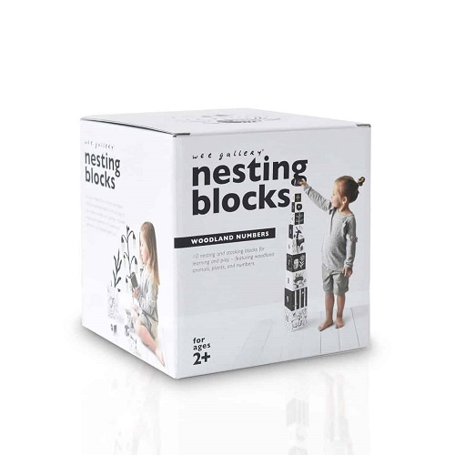 Nesting Blocks | Woodland Numbers
