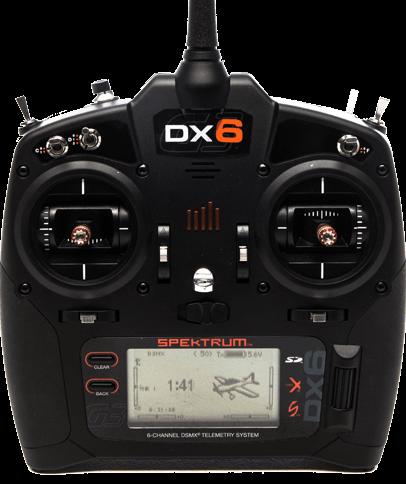 Spektrum #SPM6755 DX6 G3 6 Channel Transmitter with AR6600T Rx