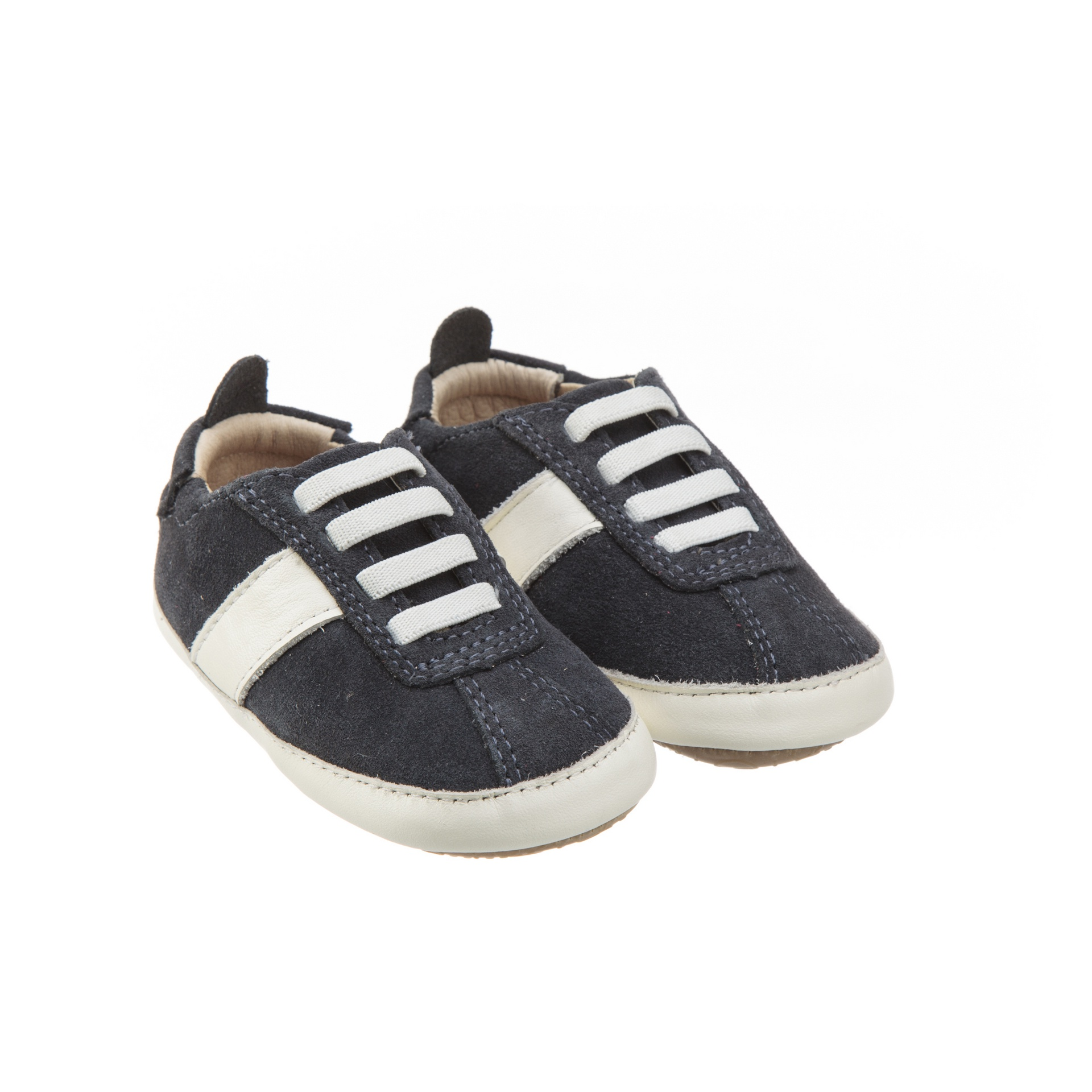 Old Soles Vintage Bambini Navy Suede White