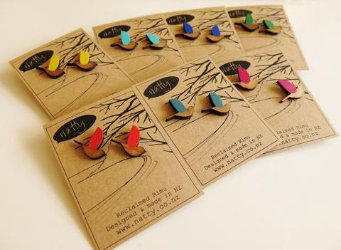 Kereru Earrings