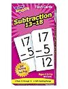 T 53104 SUBTRACTION 13-18 FLASH CARDS