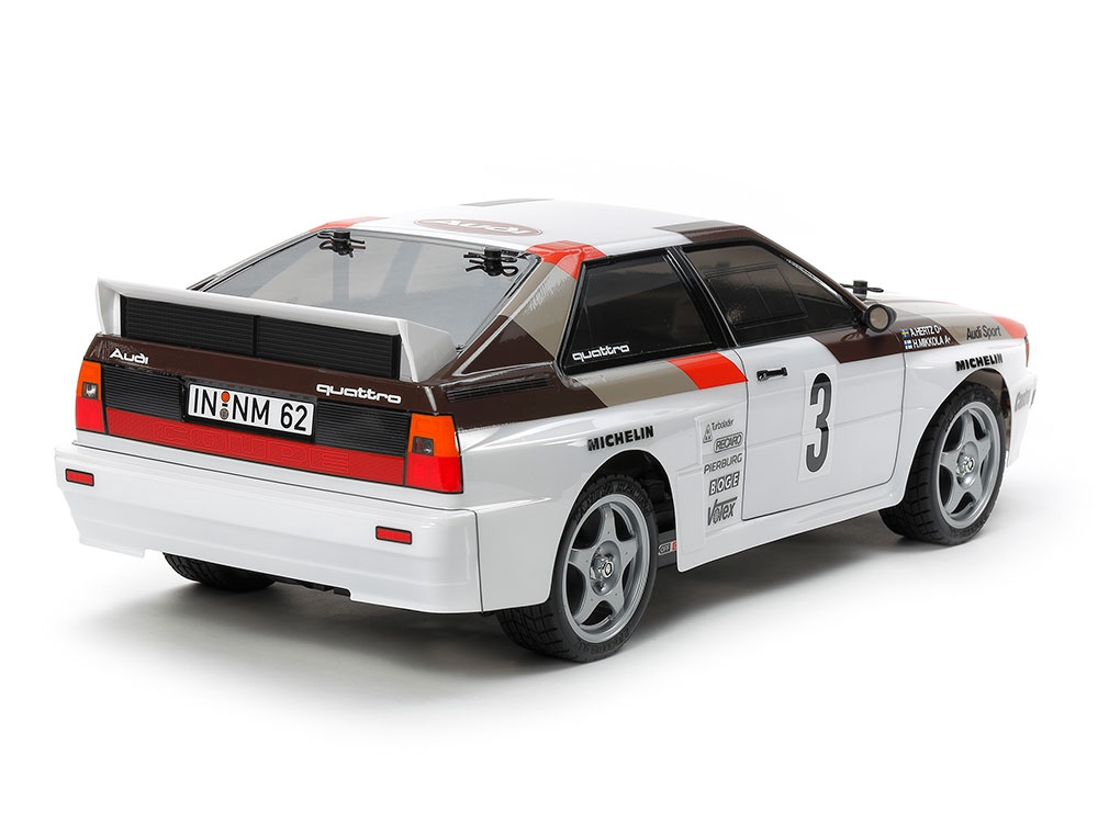 Tamiya #58667 1/10 Audi Quattro Rallye A2 (TT-02)
