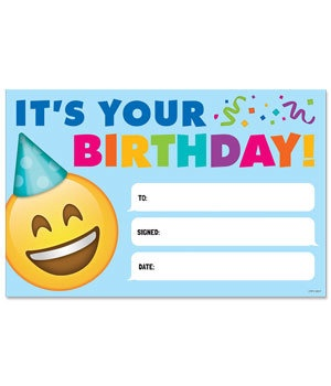 CTP 0696 EMOJI BIRTHDAY AWARD
