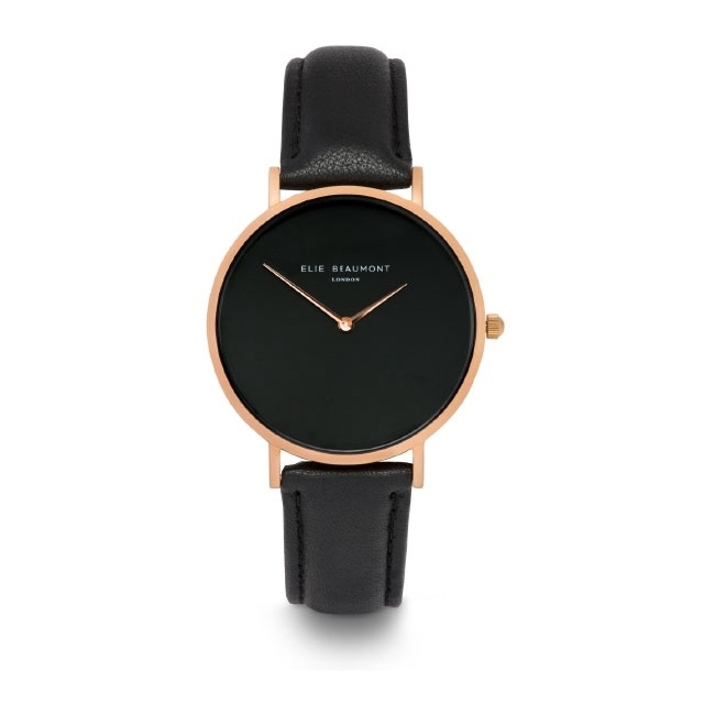 Elie Beaumont Hoxton Watch - Black