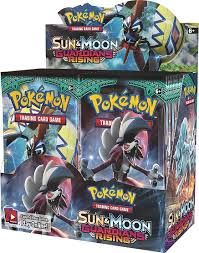 POKEMON SUN & MOON GUARDIANS RISING BOOSTER CARD