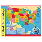 T 38097 UNITED STATES MAP CHART