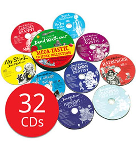 DAVID WALLIAMS MEGA-TASTIC CD STORY COLLECTION (32CDS)