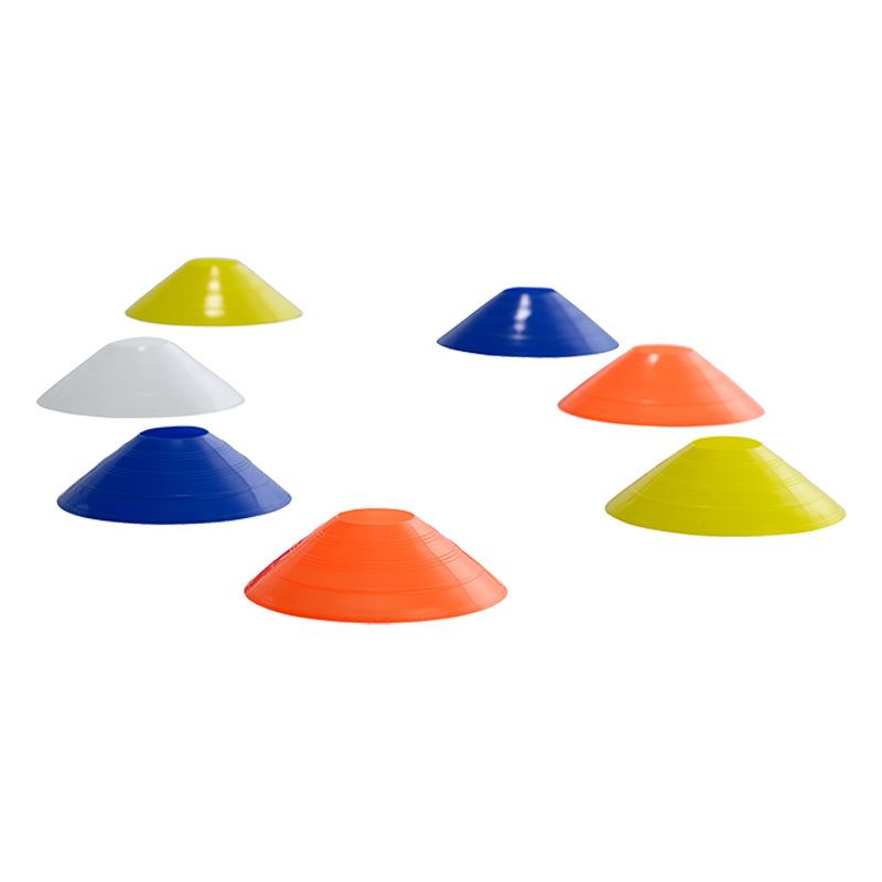Steedon Safety Markers/Cones (6cm Pack of 20): Assorted Colours