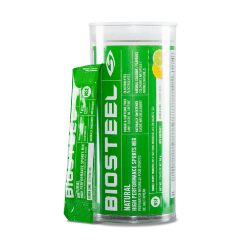BioSteel High Performance Sports Mix Tube 12 ct- Lemon Lime
