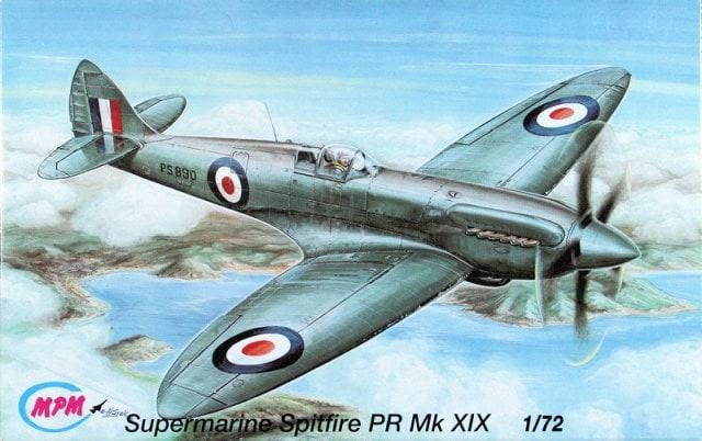 MPM #C72025 1/72 Supermarine Spitfire PRMk.XIX