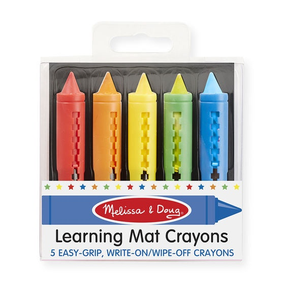 MD 4279 LEARNING MAT CRAYONS