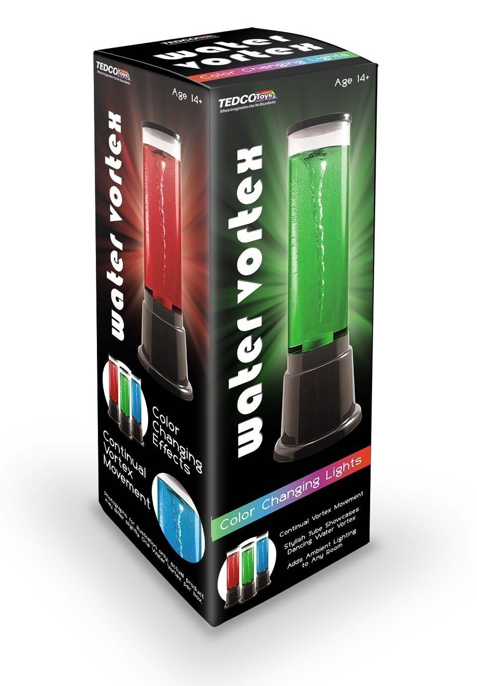 X DC TED 72693 WATER VORTEX COLOR CHANGING LIGHTS