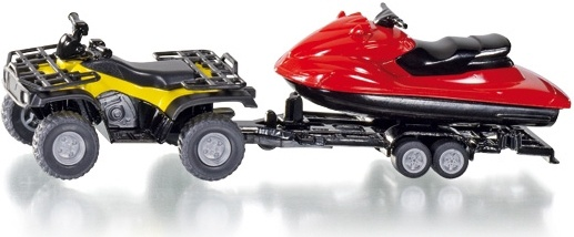 Siku # 2214 1/50 Quad Bike with Trailer