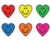 T 46080 HEART SMILE STICKERS