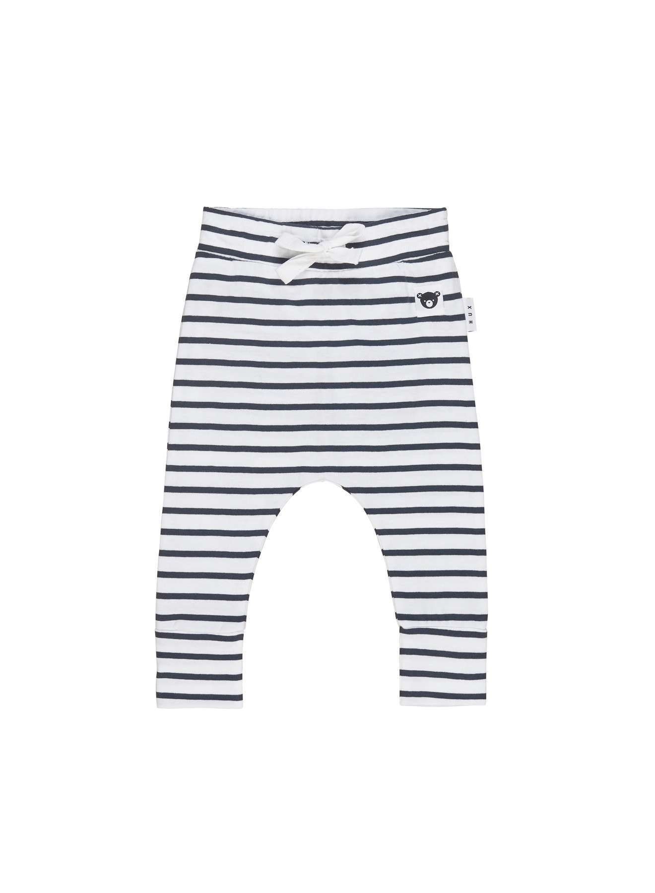 STRIPE DROP CROTCH PANT