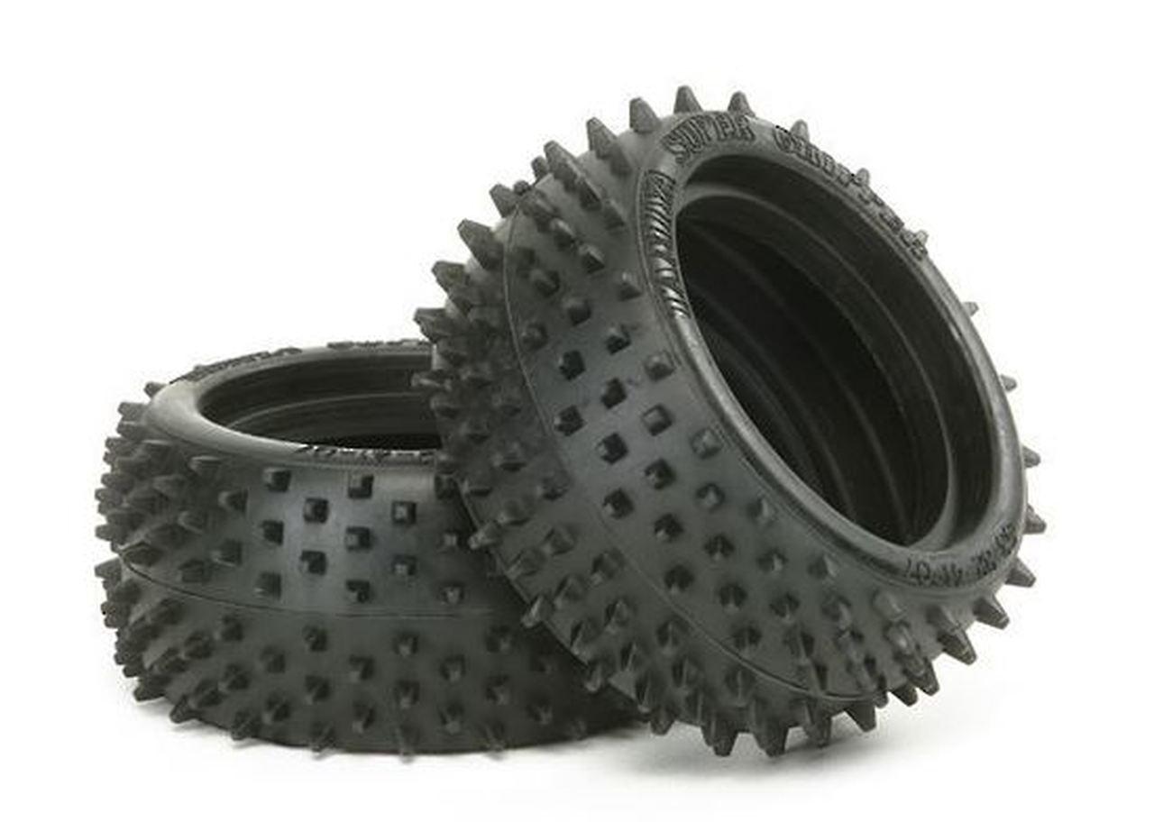 Tamiya #53084 Square Spike Rear Tyres