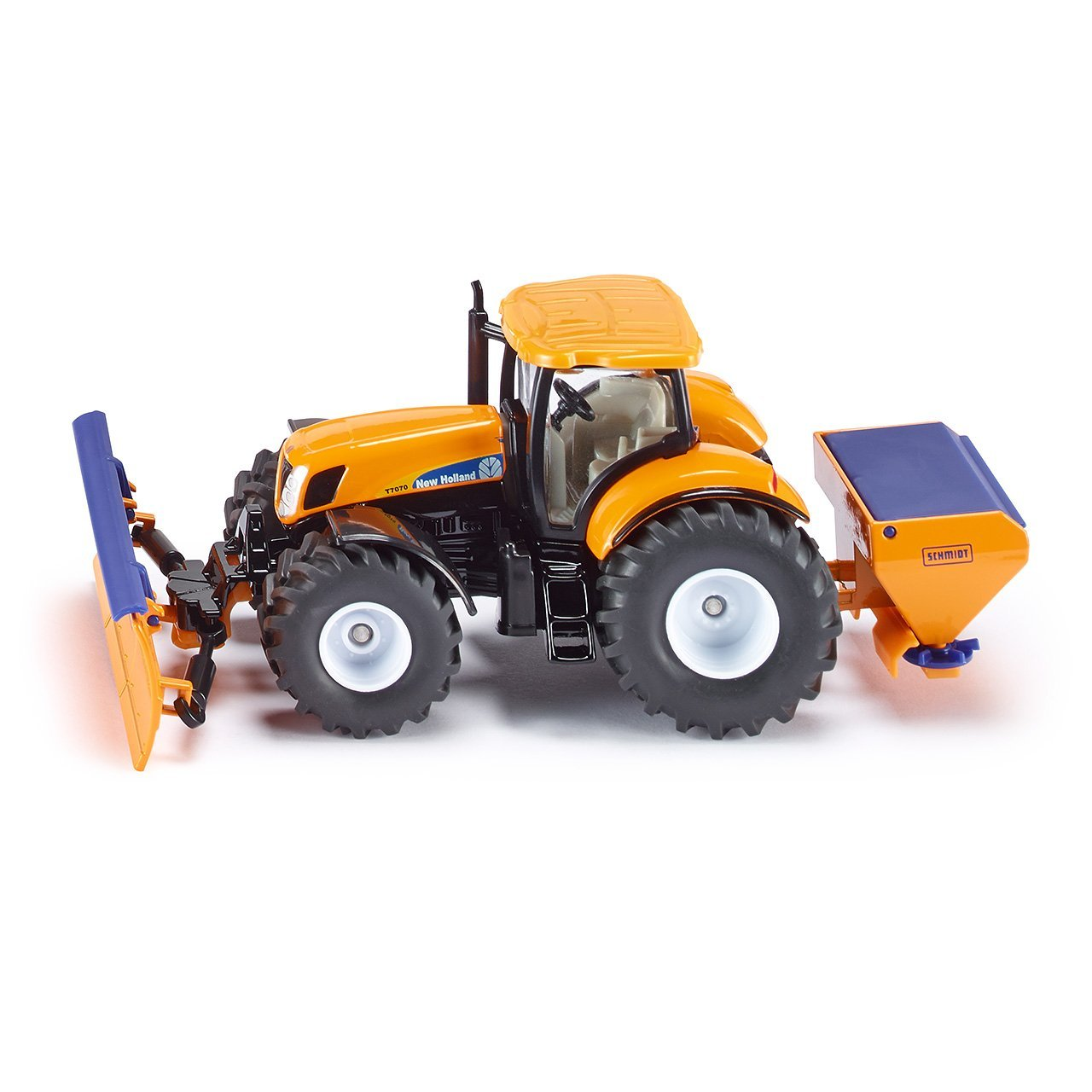TRACTOR WITH SNOW PLOUGH & SALT SPREADER